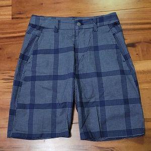 Lululemon Plaid Shorts 30x10.5